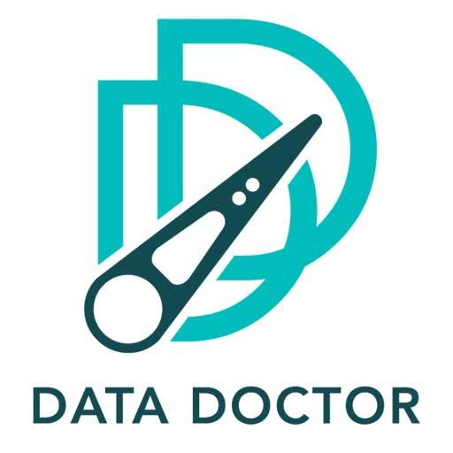 Logotipo de Data Doctor empresa de Recuperación de Datos en Discos Duros, Dispositivos Flash, Sistemas RAID y Servidores, Cintas de Respaldo y recuperación de datos en Zonas de Riesgo